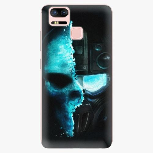 Plastový kryt iSaprio - Roboskull - Asus ZenFone 3 Zoom ZE553KL