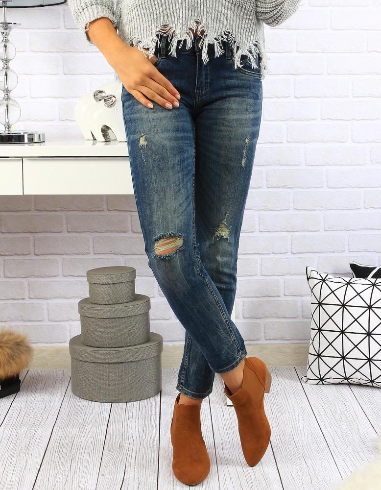 Dámské džínové kalhoty (uy0057) - R.Display - Jeans/34