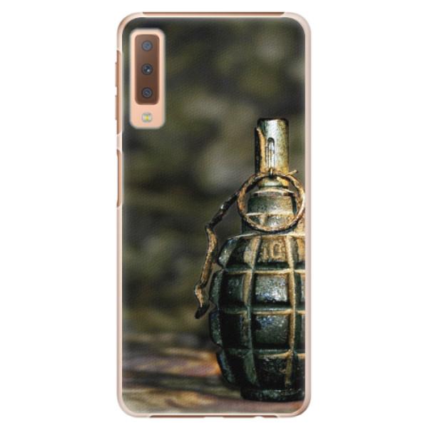 Plastové pouzdro iSaprio - Grenade - Samsung Galaxy A7 (2018)
