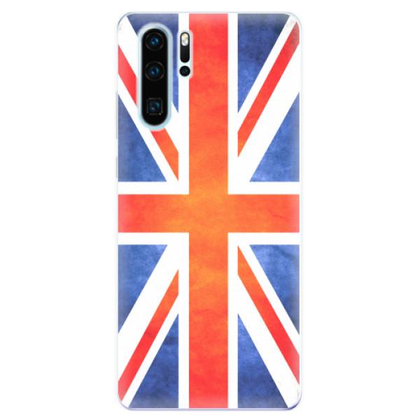 Odolné silikonové pouzdro iSaprio - UK Flag - Huawei P30 Pro