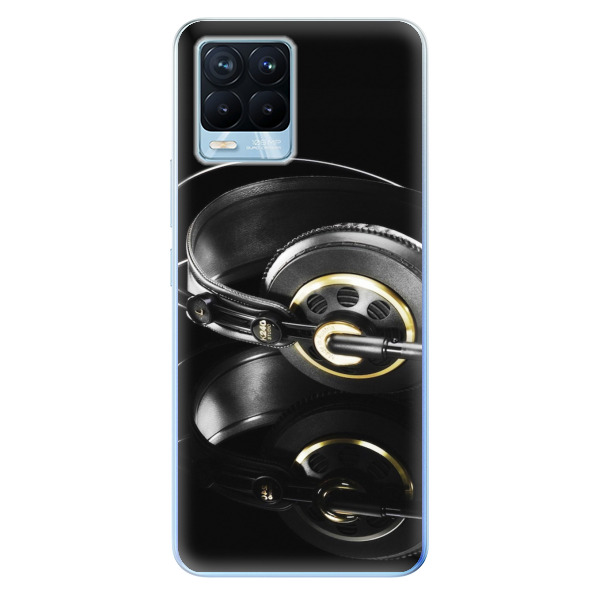 Odolné silikonové pouzdro iSaprio - Headphones 02 - Realme 8 / 8 Pro