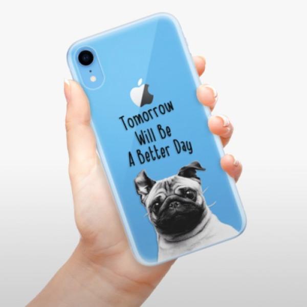 Odolné silikonové pouzdro iSaprio - Better Day 01 - iPhone XR
