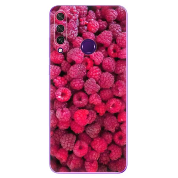 Odolné silikonové pouzdro iSaprio - Raspberry - Huawei Y6p