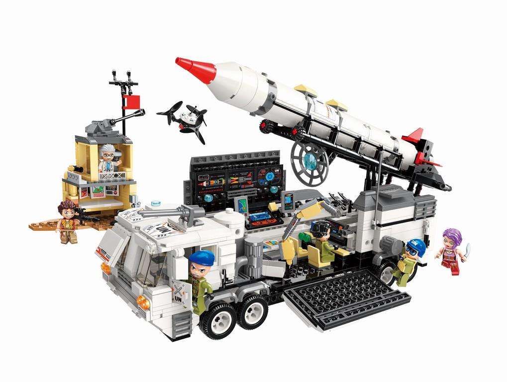 Qman Thunder Mission 3214 Mobilní základna útočné mise