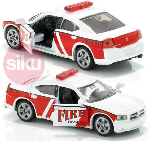 SIKU Auto Velící jednotka amerických požárníků KOV