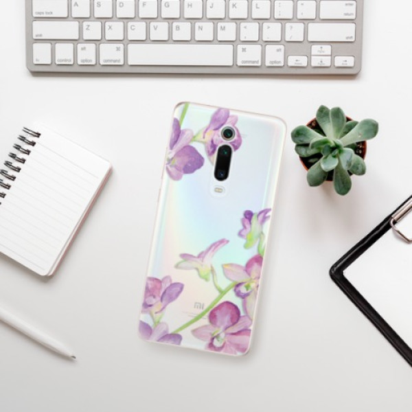 Odolné silikonové pouzdro iSaprio - Purple Orchid - Xiaomi Mi 9T Pro