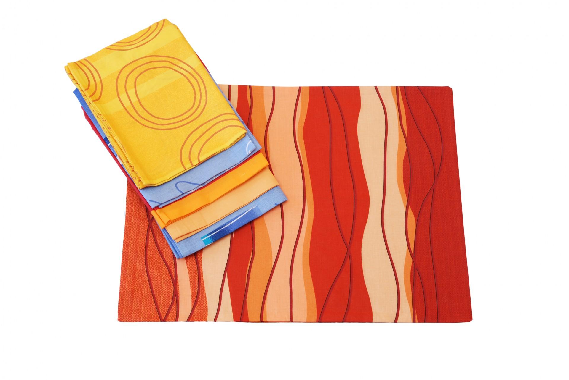 MIX povlaků bavlna 45x60cm balení 10ks
