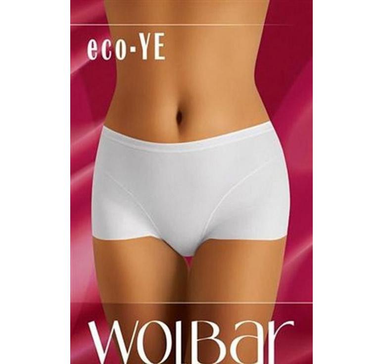 Dámské kalhotky Eco YE - Wolbar - Bílá/XL