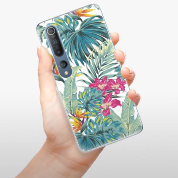Odolné silikonové pouzdro iSaprio - Tropical White 03 - Xiaomi Mi 10 / Mi 10 Pro