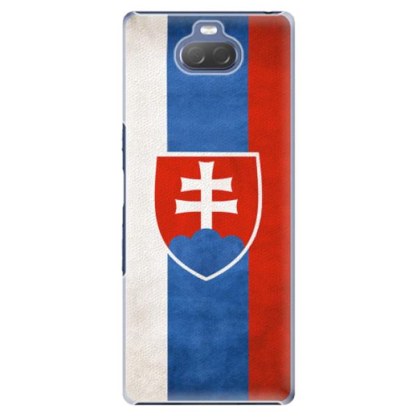 Plastové pouzdro iSaprio - Slovakia Flag - Sony Xperia 10 Plus