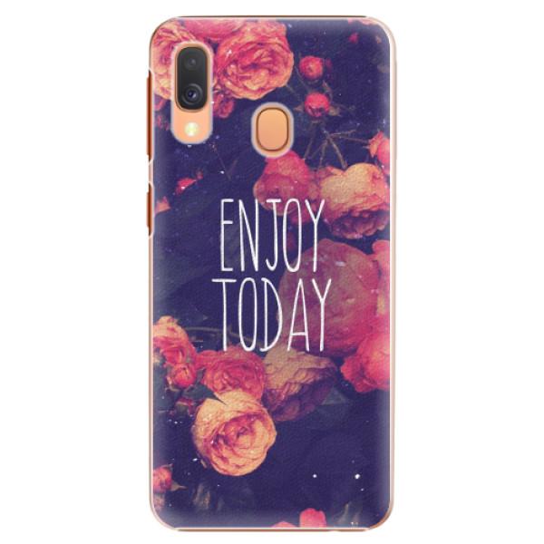 Plastové pouzdro iSaprio - Enjoy Today - Samsung Galaxy A40