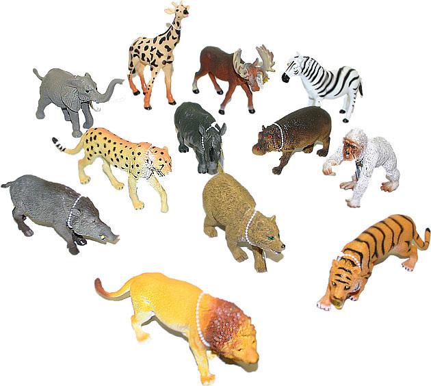 Zvířata safari (divoká) 13-20 cm Figurky zvířátek