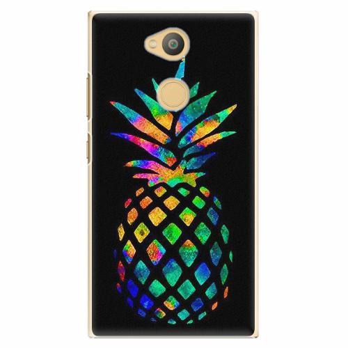 Plastový kryt iSaprio - Rainbow Pineapple - Sony Xperia L2