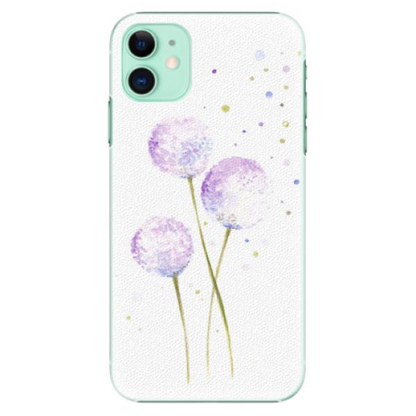 Plastové pouzdro iSaprio - Dandelion - iPhone 11