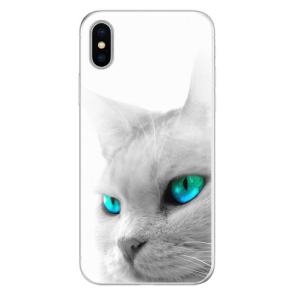 Silikonové pouzdro iSaprio - Cats Eyes - iPhone X