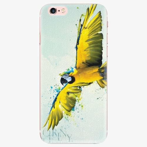 Silikonové pouzdro iSaprio - Born to Fly - iPhone 7