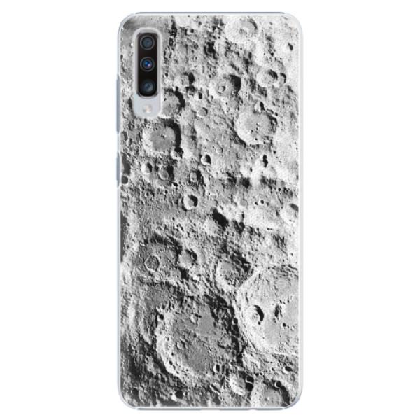 Plastové pouzdro iSaprio - Moon Surface - Samsung Galaxy A70
