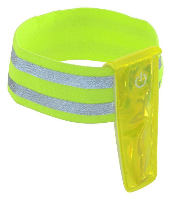 Reflexní pásek na ruku - 4 LED
