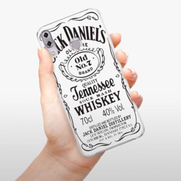 Plastové pouzdro iSaprio - Jack White - Asus ZenFone 5Z ZS620KL