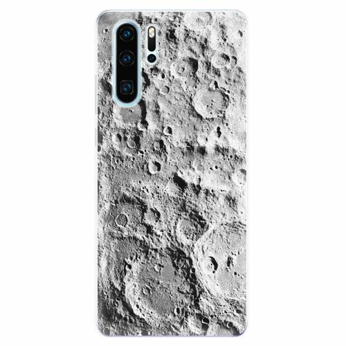Silikonové pouzdro iSaprio - Moon Surface - Huawei P30 Pro