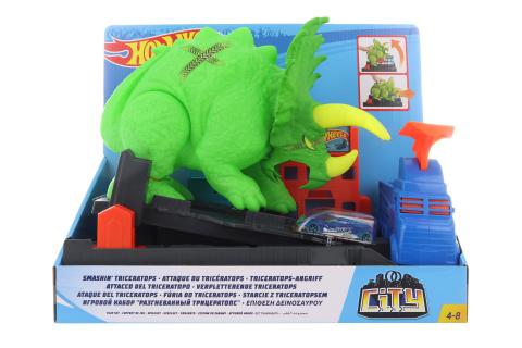 Hot Wheels City posaď Triceratopse GBF97 TV 1.5.-30.6.2019