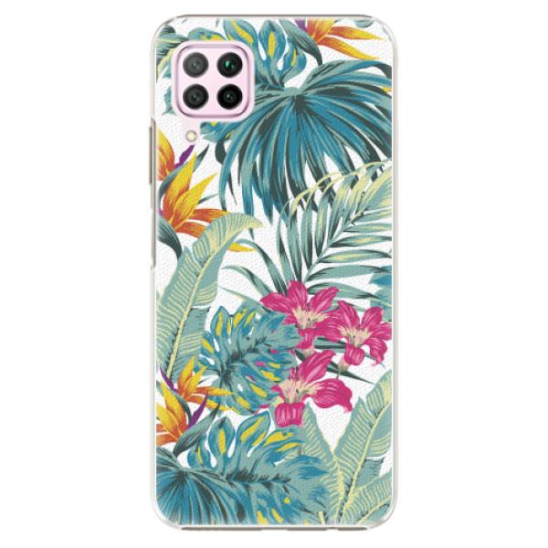Plastové pouzdro iSaprio - Tropical White 03 - Huawei P40 Lite