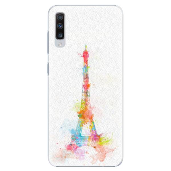 Plastové pouzdro iSaprio - Eiffel Tower - Samsung Galaxy A70
