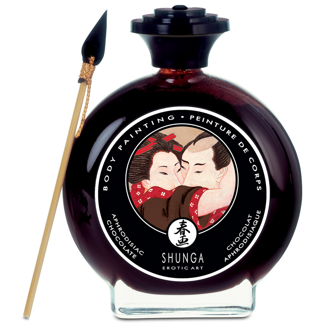 Malování na tělo čokoláda Shunga Chocolate Body Painting