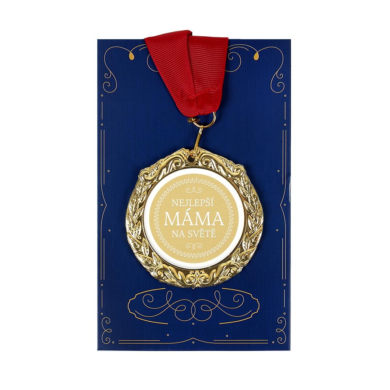 ALBI Přání s medailí - Nejlepší máma