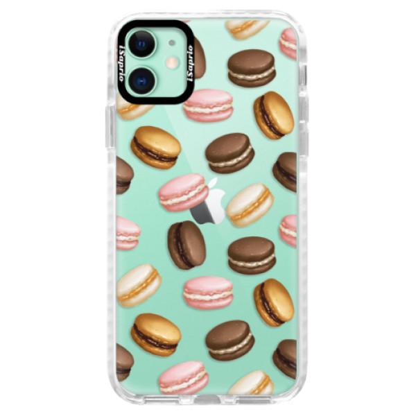 Silikonové pouzdro Bumper iSaprio - Macaron Pattern - iPhone 11