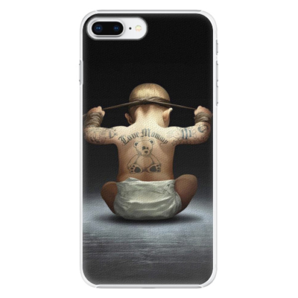 Plastové pouzdro iSaprio - Crazy Baby - iPhone 8 Plus
