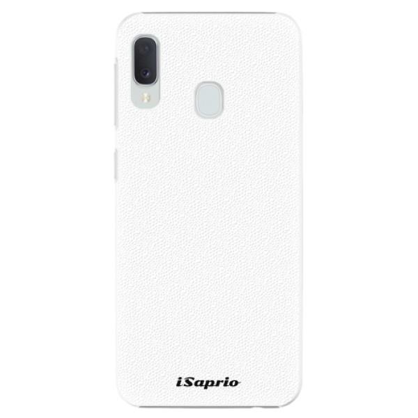 Plastové pouzdro iSaprio - 4Pure - bílý - Samsung Galaxy A20e