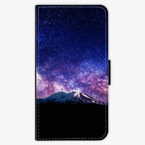 Flipové pouzdro iSaprio - Milky Way - Samsung Galaxy J7 2016