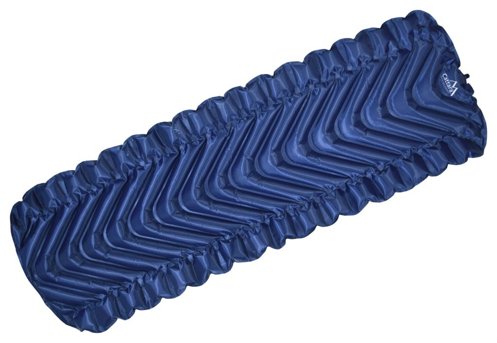 Karimatka nafukovací TRACK 215x69cm modrá