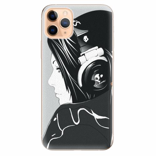 Silikonové pouzdro iSaprio - Headphones - iPhone 11 Pro Max