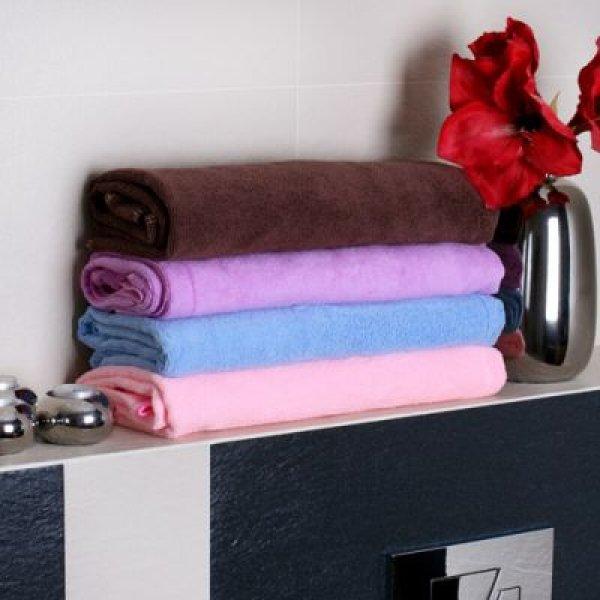 Županový ručník - růžový