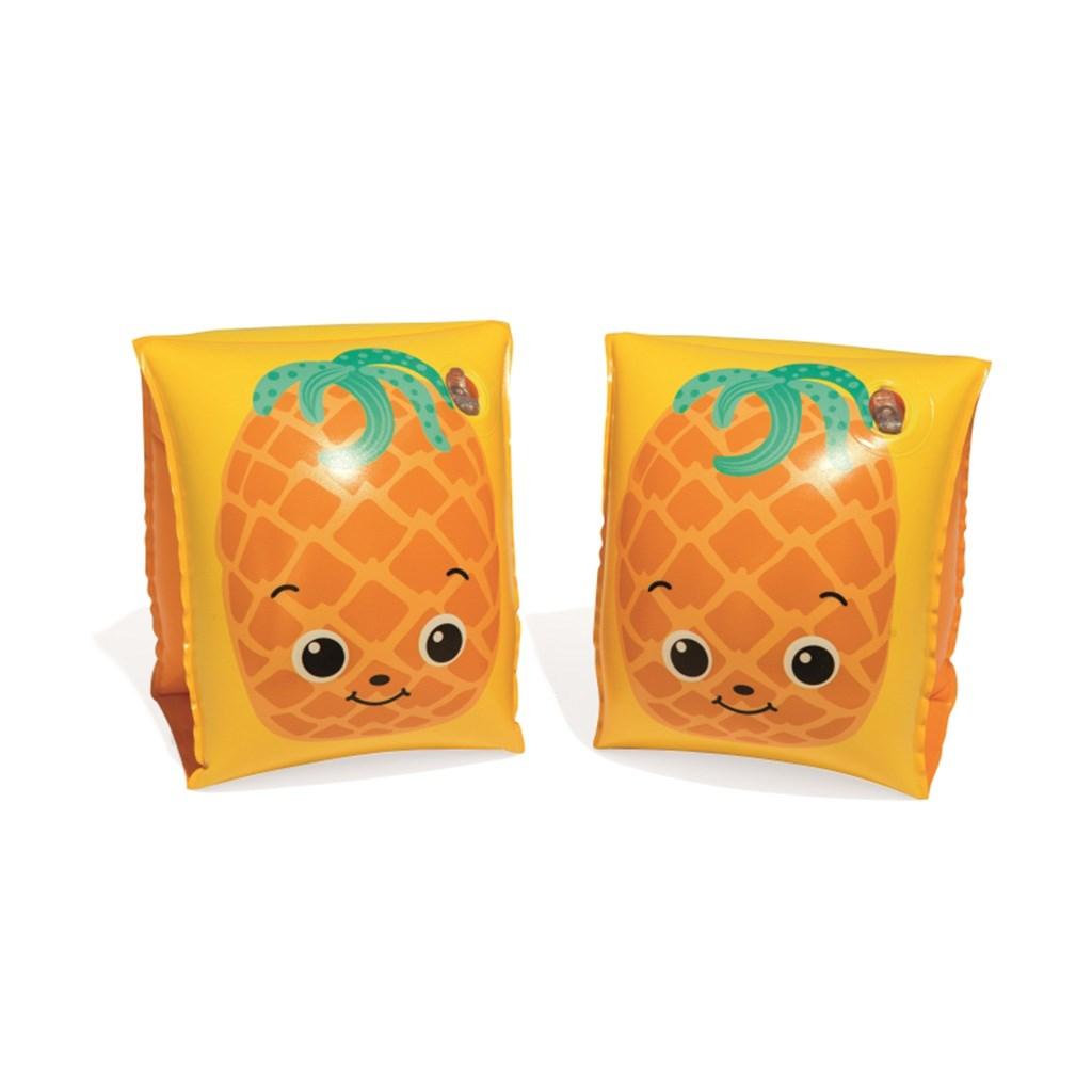 Dětské nafukovací rukávky Bestway fruit yellow - žlutá