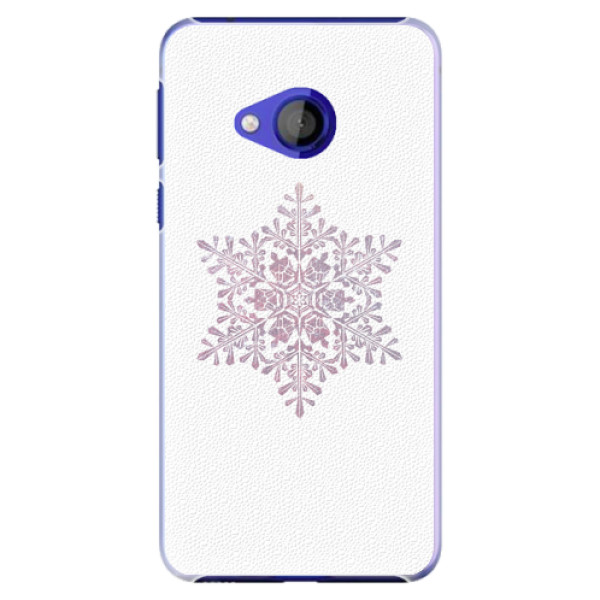 Plastové pouzdro iSaprio - Snow Flake - HTC U Play