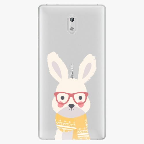 Plastový kryt iSaprio - Smart Rabbit - Nokia 3