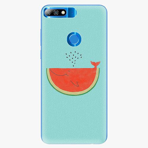 Silikonové pouzdro iSaprio - Melon - Huawei Y7 Prime 2018