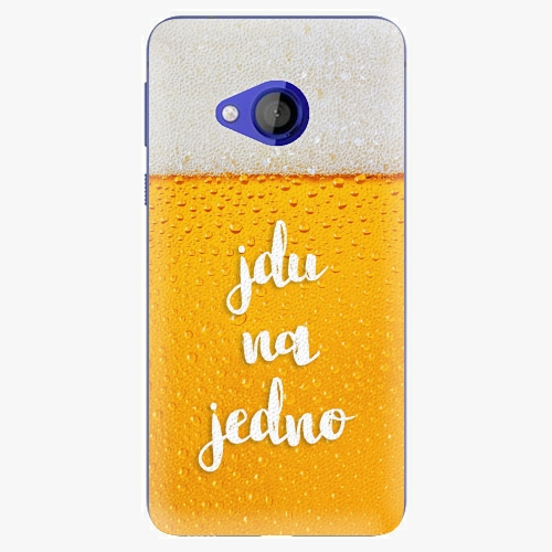 Plastový kryt iSaprio - Jdu na jedno - HTC U Play
