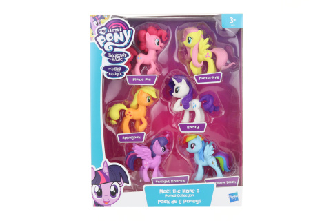 My Little Pony Kolekce 6 poníků TV 1.2.- 30.3.2019