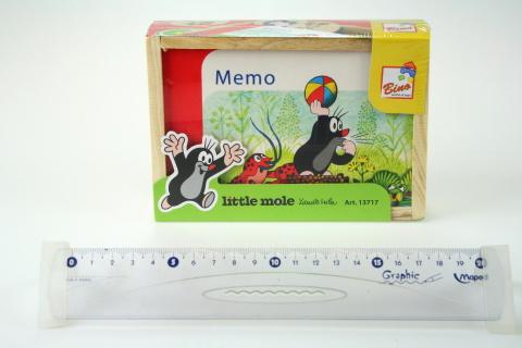 Pexeso v krabičce - Krtek, 24 dílů