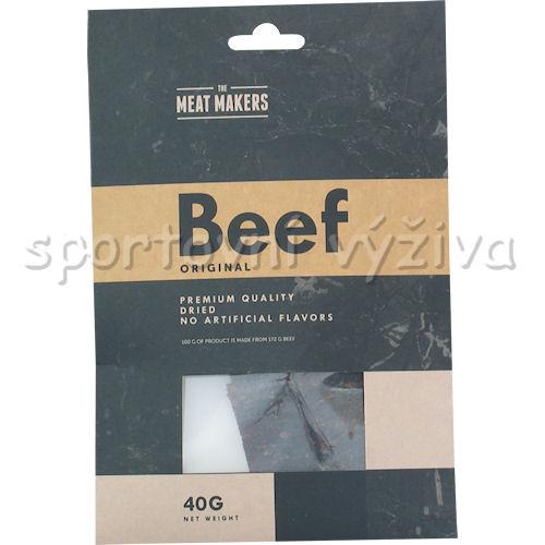 Meat Makers Beef Jerky Original 40g