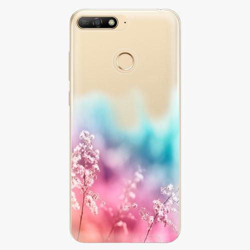 Silikonové pouzdro iSaprio - Rainbow Grass - Huawei Y6 Prime 2018