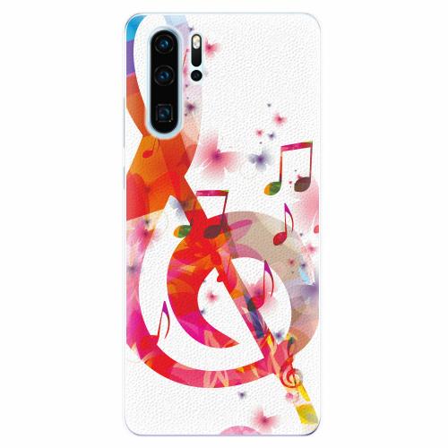 Silikonové pouzdro iSaprio - Love Music - Huawei P30 Pro