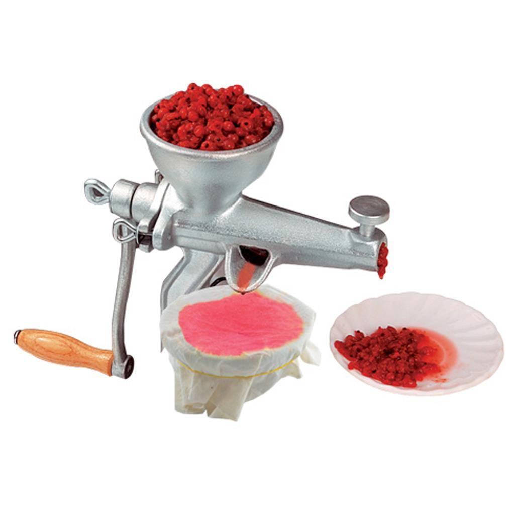 Odšťavňovací ruční mlýnek na ovoce