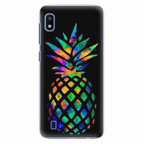 Plastový kryt iSaprio - Rainbow Pineapple - Samsung Galaxy A10