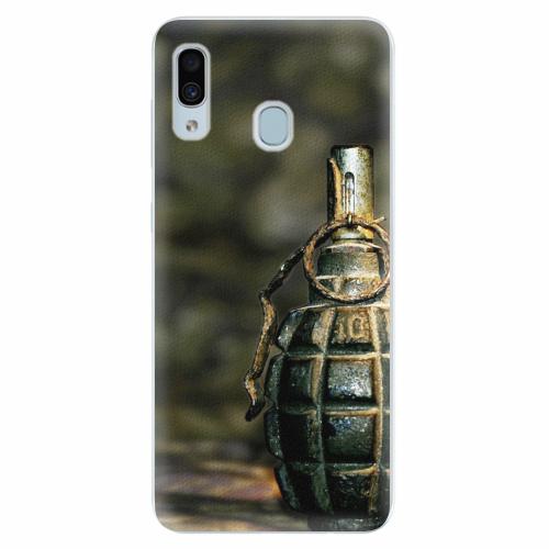 Silikonové pouzdro iSaprio - Grenade - Samsung Galaxy A30