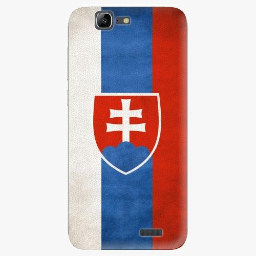 Plastový kryt iSaprio - Slovakia Flag - Huawei Ascend G7